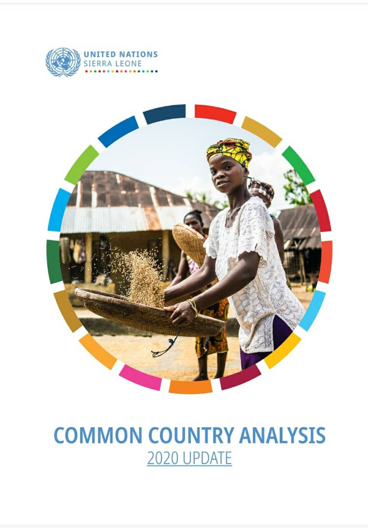 United Nations Sierra Leone Common Country Analysis 2020 update