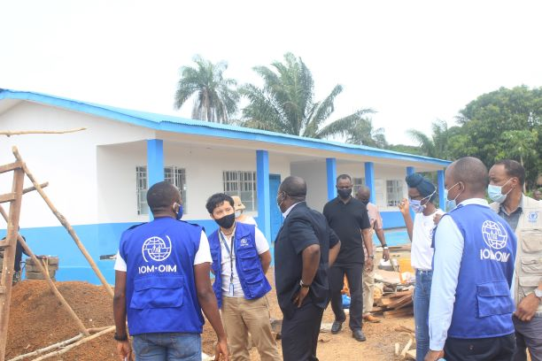 UN Resident Coordinator commends IOM's Youth Empowerment Project as a 'Dream Initiative'.