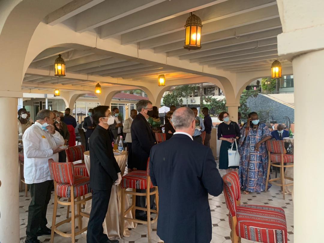 UN Resident Coordinator bids farewell to EU, Ireland, UK & World Bank envoys to Sierra Leone.