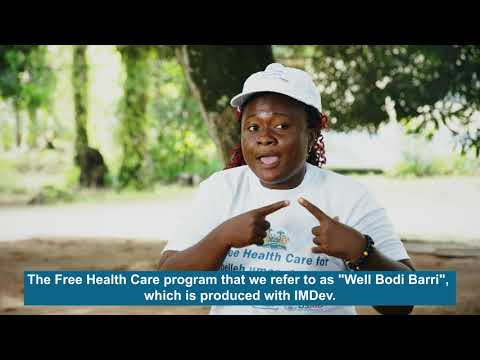 Engaging the media to promote positive health governance in Sierra Leone
